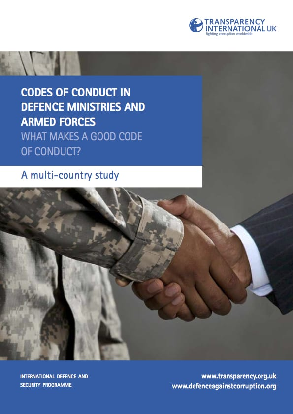 PDF cover of Codes of conduct in defence ministries and armed forces: What makes a good code of conduct? A multi-country study