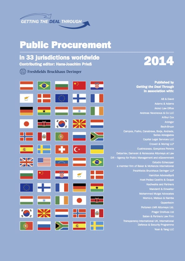 PDF cover of Chapter: Defence procurement – understanding, identifying and addressing corruption risks
