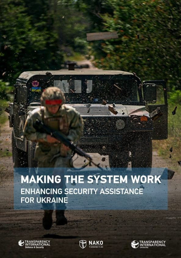 PDF cover of Making the System Work: Enhancing Security Assistance For Ukraine