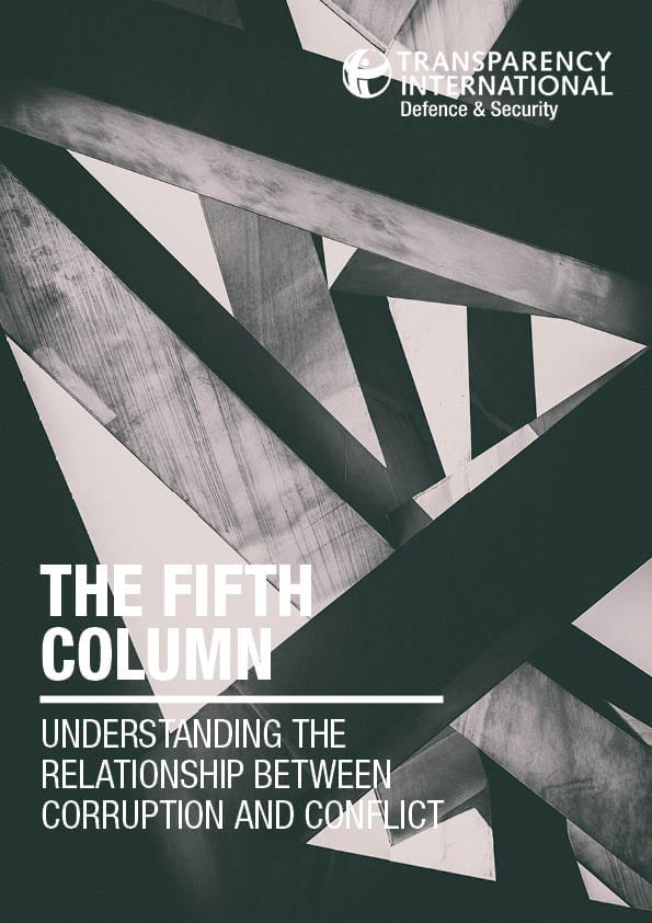PDF cover of The Fifth Column: Understanding the Relationship Between Corruption and Conflict