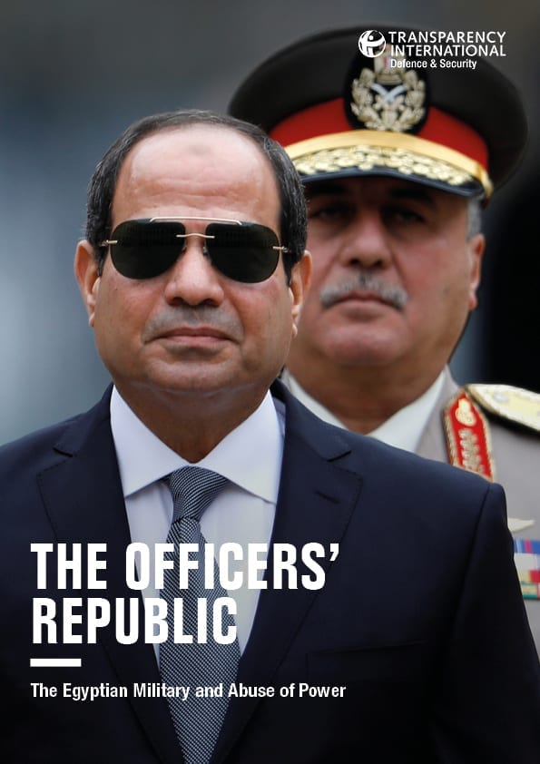 PDF cover of The Officers' Republic: The Egyptian Military and Abuse of Power
