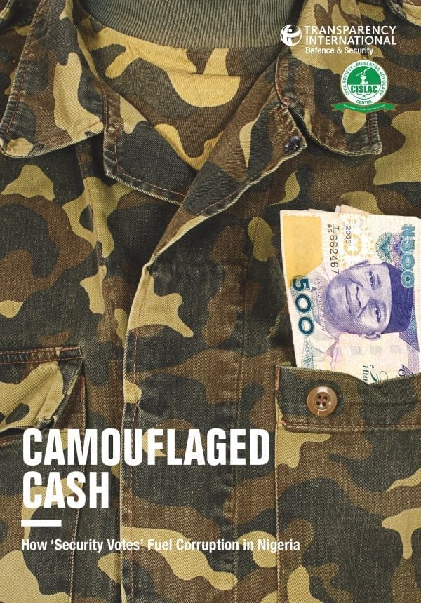 PDF cover of Camouflaged Cash: How 'Security Votes' Fuel Corruption in Nigeria