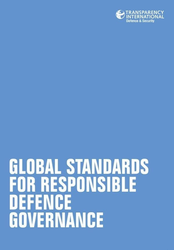 PDF cover of Global Standards for Responsible Defence Governance
