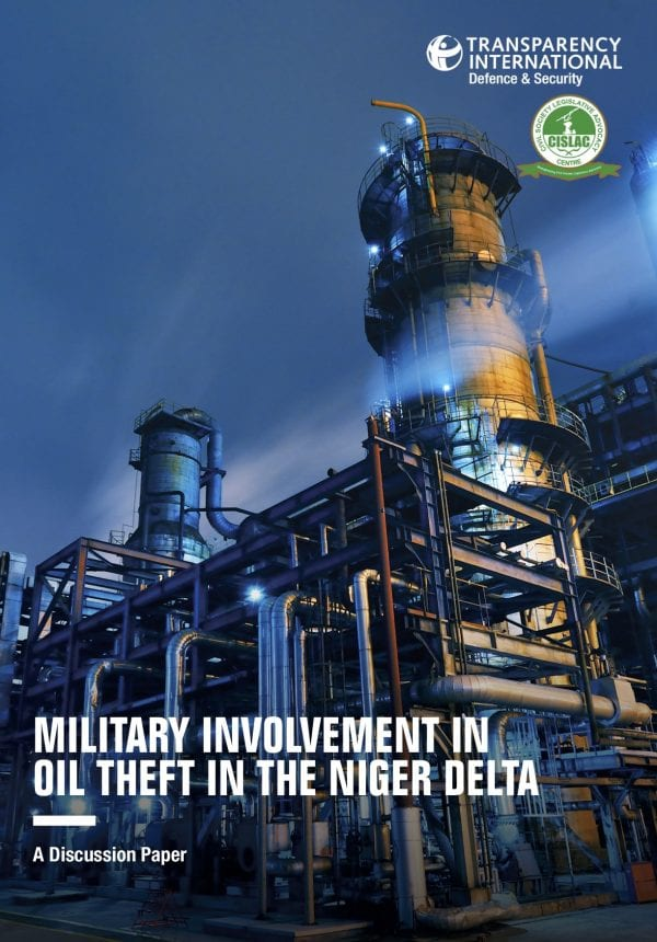 PDF cover of Military Involvement in Oil Theft in the Niger Delta