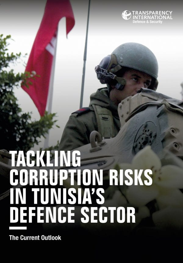 PDF cover of Tackling Corruption Risks in Tunisia's Defence Sector