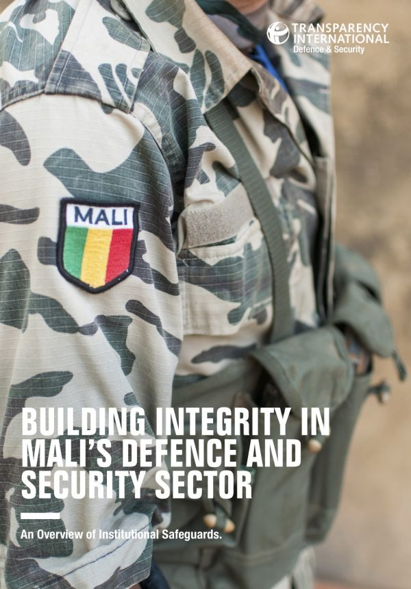 PDF cover of Building Integrity in Mali's Defence and Security Sector
