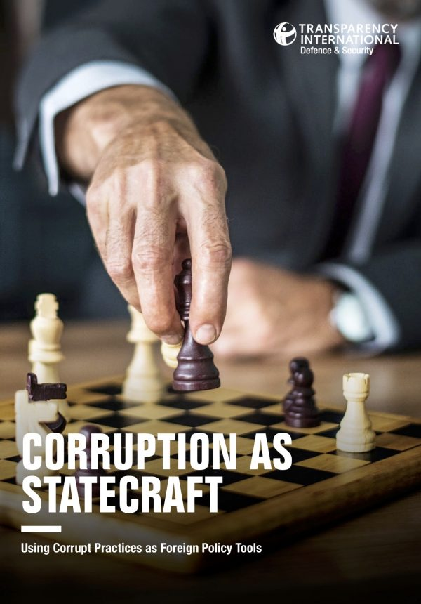 PDF cover of Corruption as Statecraft: Using Corrupt Practices as Foreign Policy Tools