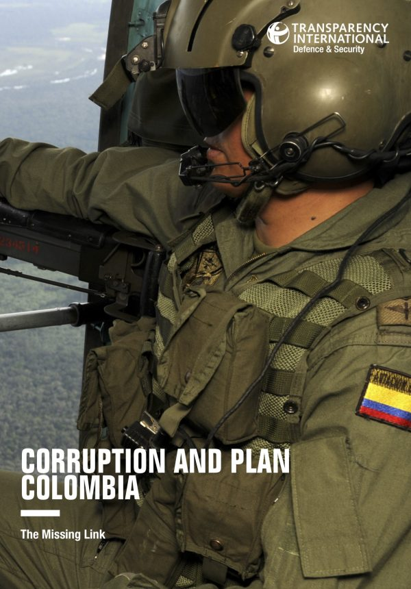 PDF cover of Corruption and Plan Colombia: The Missing Link