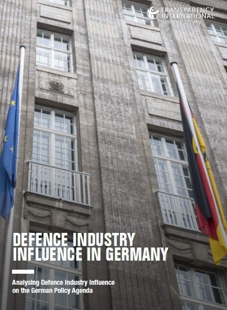 PDF cover of Defence industry influence in Germany: Analysing defence industry influence on the German Policy Agenda